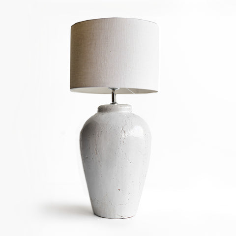 Vesuvius Table Lamp | White Shade