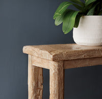 Java Teak Console | Dingklik - Whitewash