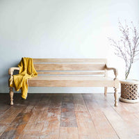 Throw VV Linen | Ochre - Originals Furniture