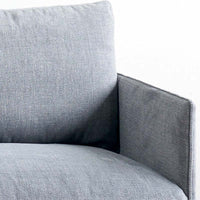 Fabric 3 Seater Sofa | Pensive - Weathered Grey
