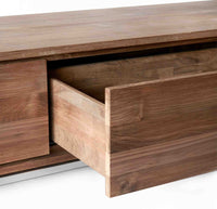 Teak TV console | Essential 2 Drawers - Originals Furniture