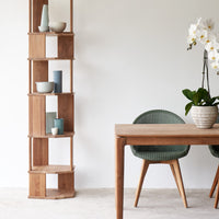Dining Chair Teak | Avril - Dusty Green
