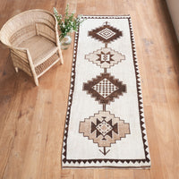 Anatolian Rug | Black-Brown W101 x L292 cm