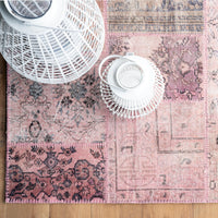 Patchwork Rug | Pink  W238 x L172cm - Originals Furniture