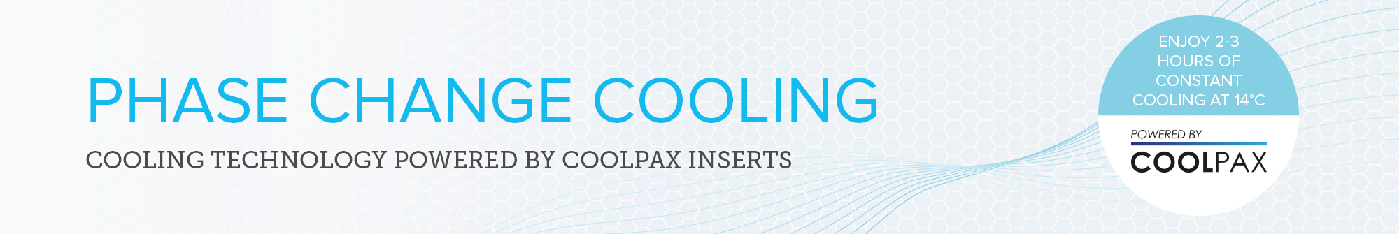 Phase change cooling products