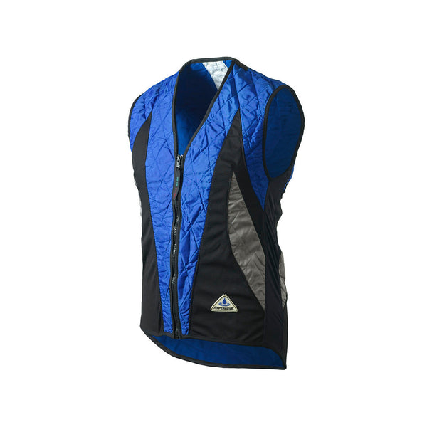HyperKewl™ Evaporative Cooling PEAK Cycling Vest - blue