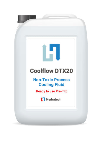 Coolflow DTX20 - Ready-To-Use Glycol Antifreeze for RAC & HVAC systemsSecondary Refrigerant Antifreeze-hydratech