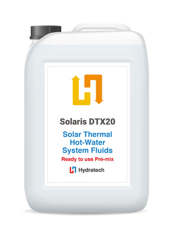 Solaris DTX20 - Ready-To-Use Solar Fluid Heat Transfer FluidSolar Thermal Fluid with Antifreeze-hydratech