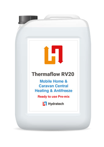 Thermaflow RV20 - Ready-To-Use Caravan & Mobile Home Central Heating AntifreezeCaravan heating systems-hydratech
