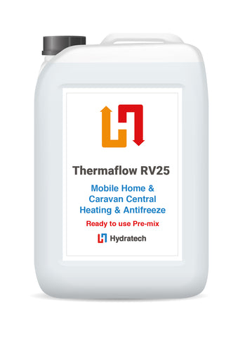 Thermaflow RV25 - Ready-To-Use Caravan & Mobile Home Central Heating AntifreezeCaravan heating systems-hydratech