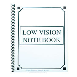 Bold Lined Notebook - White
