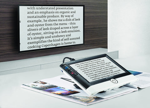 "Visolux Digital HD - 7"" Hand-held Video Magnifier"
