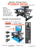 Stand Choice Electric Sit-Stand Desk - SOLD OUT!