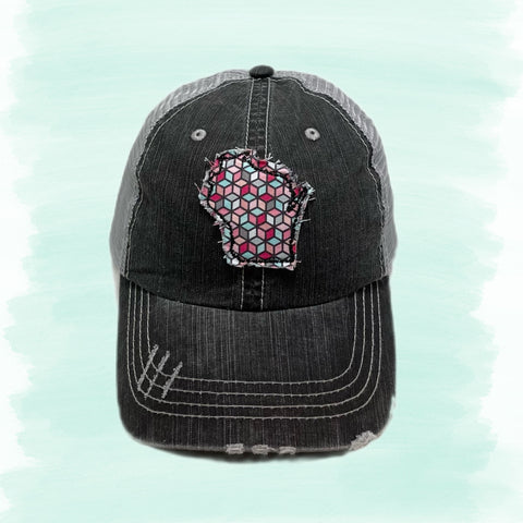 Fabric State Cutout Hats