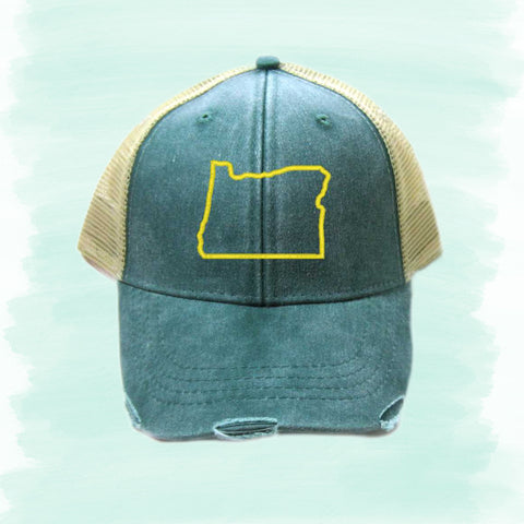 State Outline Hats