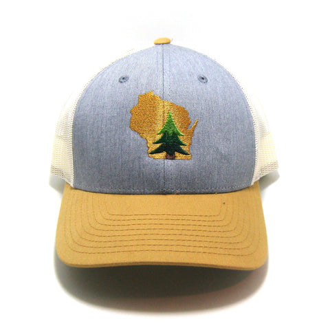 Pine in State - Snapback Trucker Hat