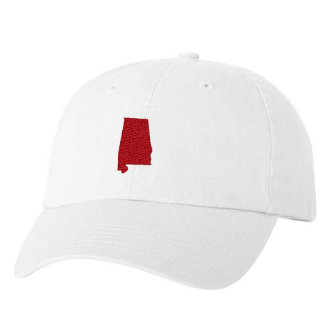 Alabama Hat - Classic Dad Hat - Many Color Combinations
