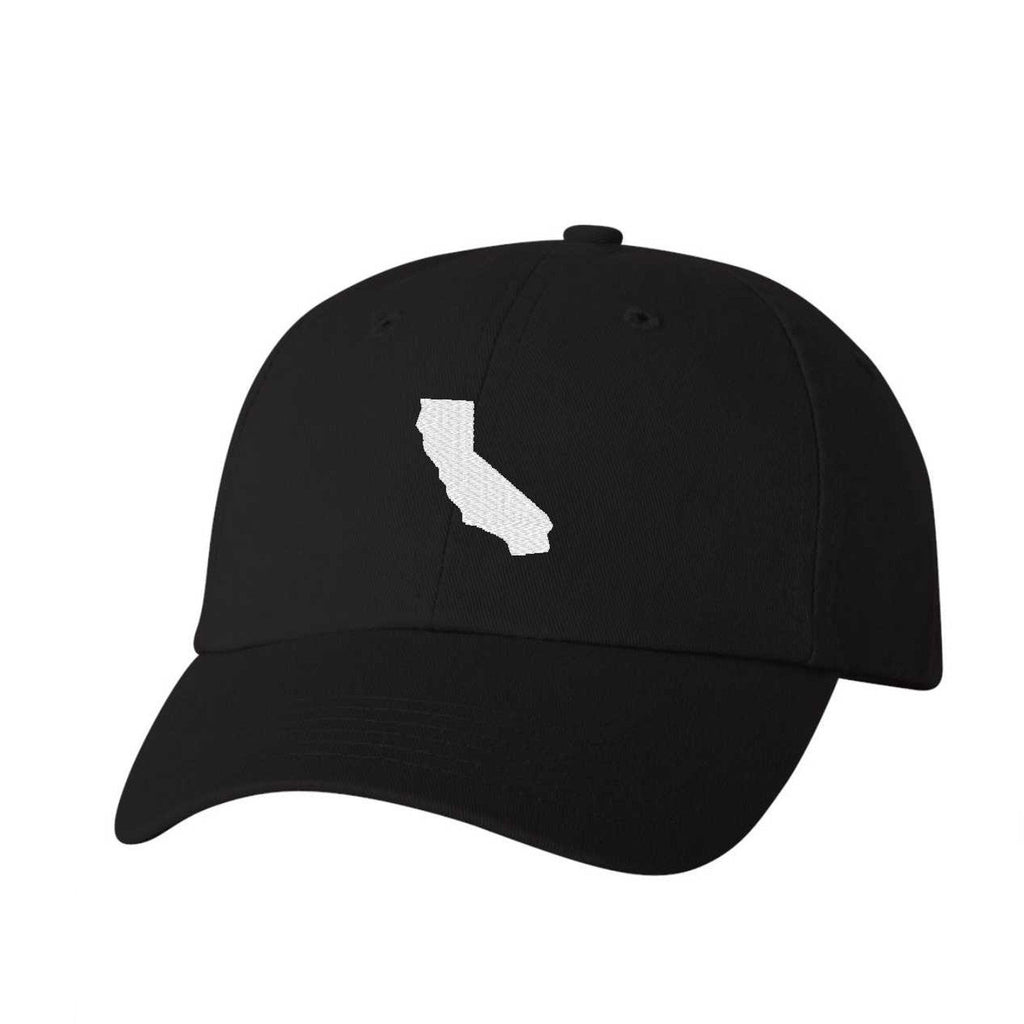 California Hat - Classic Dad Hat - Many Color Combinations