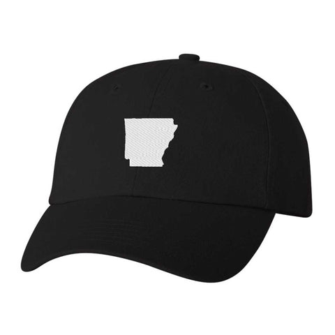 Arkansas Hat - Classic Dad Hat - Many Color Combinations