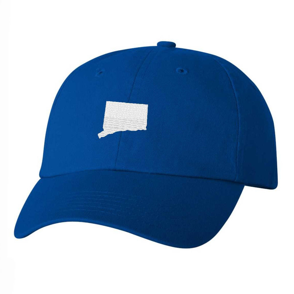 Connecticut Hat - Classic Dad Hat - Many Color Combinations