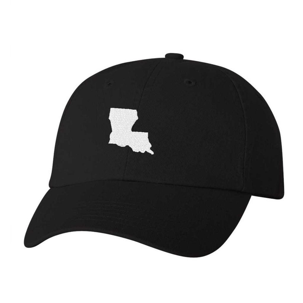 Louisiana Hat - Classic Dad Hat - Many Color Combinations