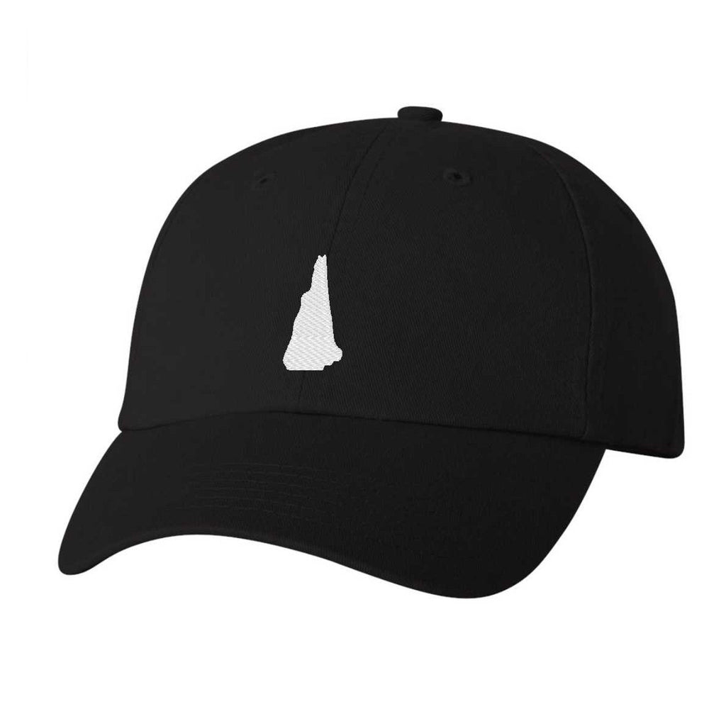 New Hampshire Hat - Classic Dad Hat - Many Color Combinations