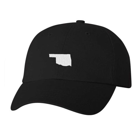 Oklahoma Hat - Classic Dad Hat - Many Color Combinations