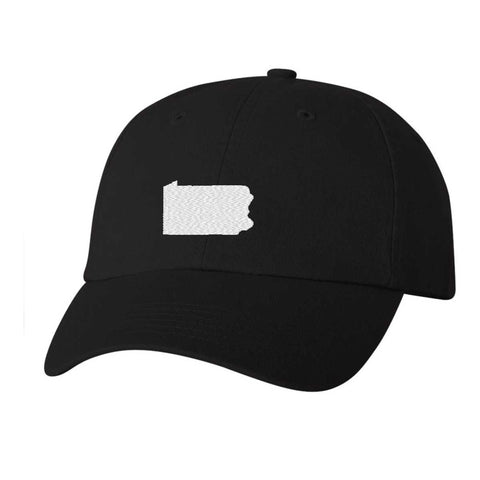Pennsylvania Hat - Classic Dad Hat - Many Color Combinations