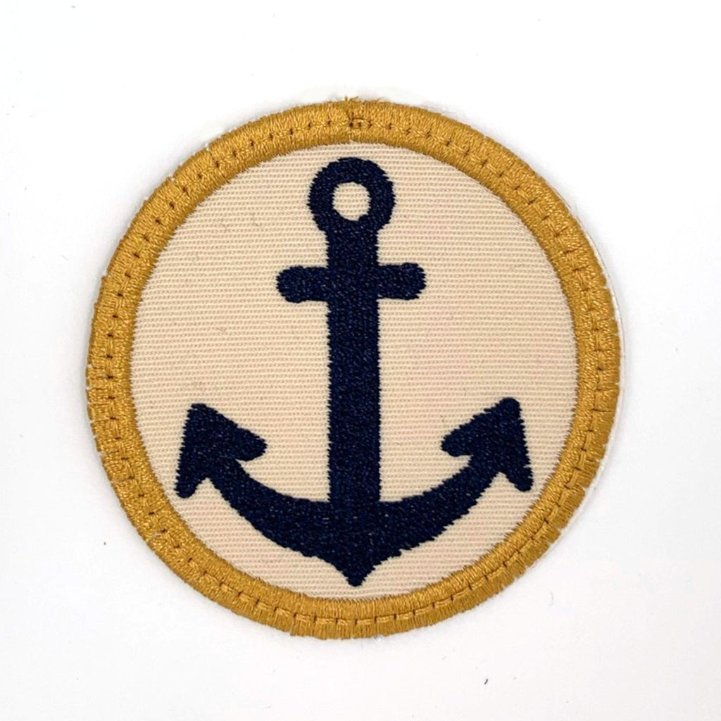 Anchor Iron-on Patch