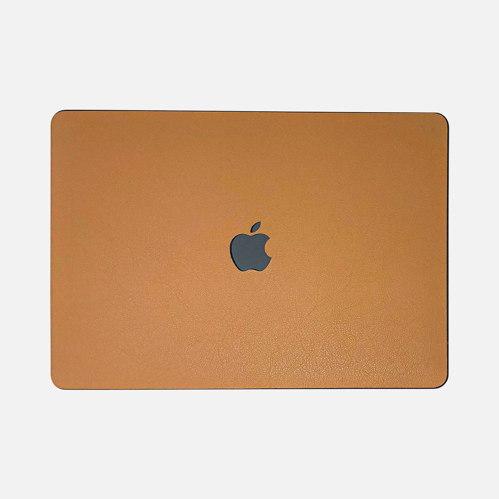 Leather MacBook Cases. Minimalist design made with sustainably sourced natural leather