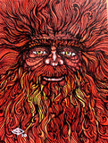 The Red Wode Man