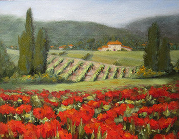 Tuscany Beyond the Poppies