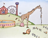 Mouse Fair: Giraffe Slide