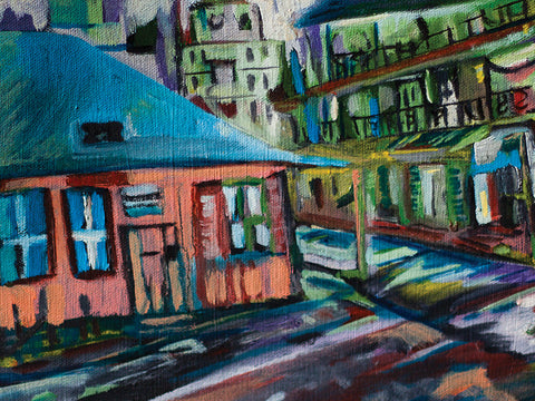 Corner in the Quarter by Julie Tucker-Temps