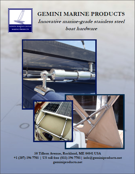 Gemini Marine Products catalogue download