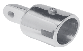 "1 1/4"" (32mm) stainless steel eye end for boat canvas frames from Gemini Marine Products"