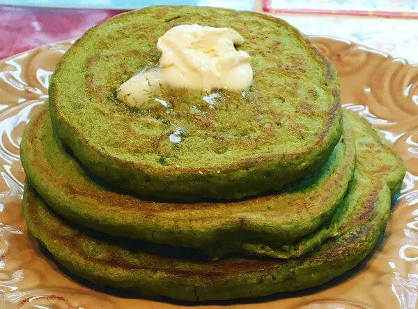Recipe: Marvelous Matcha Green Tea Pancakes