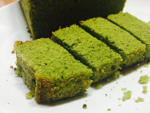 Matcha Tea banana Bread