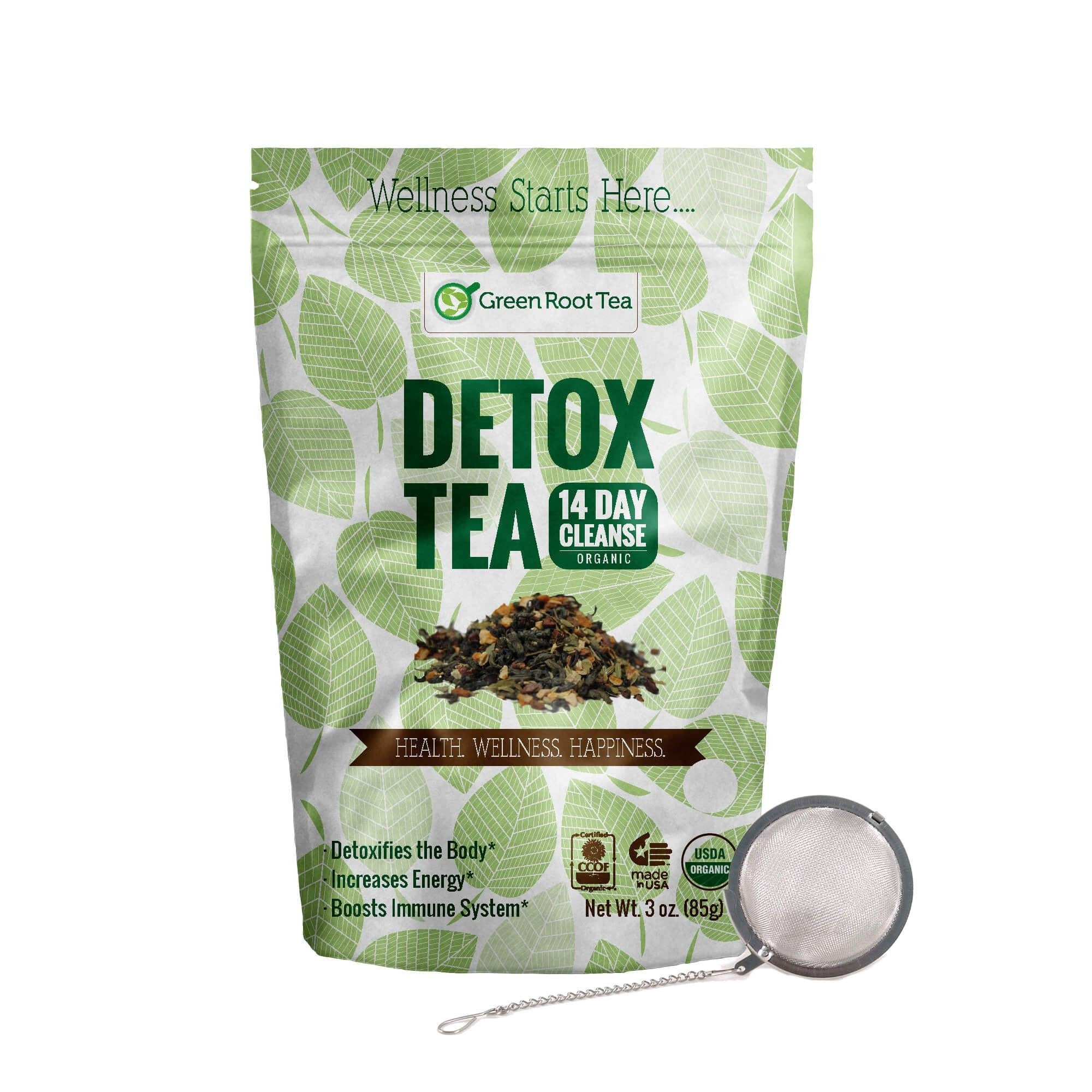 Organic Detox Tea - Green Tea Herbal Cleanse