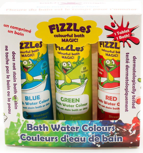 FiZZLeS - the magic scented bath effervescent tablets for bathtime adventure! (Free Shipping)