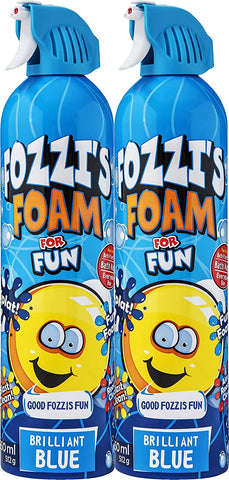 2 x Fozzi's Foam Brilliant Blue 18.06 oz