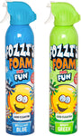 FOZZI's Bath Foam Aerosol for Kids, Brilliant Blue and Groovy Green, Good Clean Fun, 11.04 ounces (340ml) Each (Pack of 2) (Free Shipping)