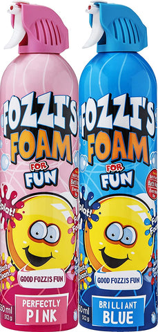 FOZZI's Foam Brilliant Blue & Perfectly Pink Soap ,Good Clean Fun 2 x 18.06 oz (550ml) (Free Shipping)