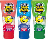 FOZZI's Soap Paint - Berry Blast, Bubble Gum and Apple Blast (Pack of three) 3.38 ounces each