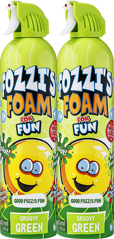 FOZZI's 2 x Foam Groovy Green, Good Clean Fun 2 x 18.06 oz (550ml) (Free Shipping)