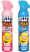 FOZZI's Bath Foam Aerosol for Kids, Brilliant Blue and Perfectly Pink, Good Clean Fun, 11.49 ounces (340ml) Each (Pack of 2) (Free Shipping)