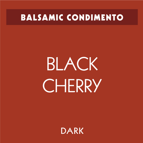 Black Cherry Dark Balsamic Condimento