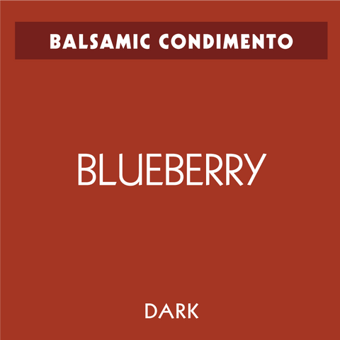 Blueberry Dark Balsamic Condimento