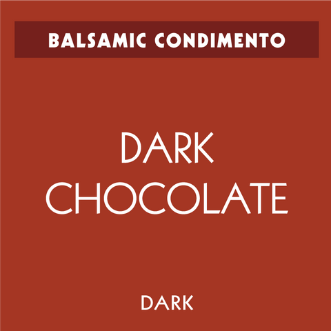 Dark Chocolate Dark Balsamic Condimento