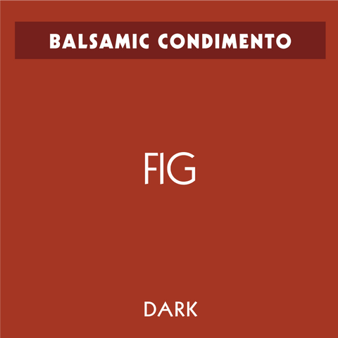 Fig Dark Balsamic Condimento